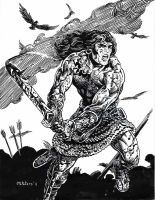 Conan Sketch by mlpeters