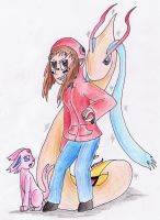 Trainer Sammy Wants To Battle by ethanoI