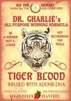 Dr. Charlies TIGER BLOOD ad by RadActPhoto