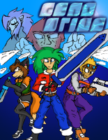 Geno Drive - Title and Cover by SpikeHartseeker