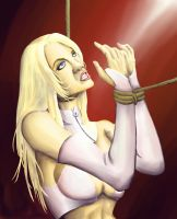 Asphyxia vs. The White Queen by DarthWoo