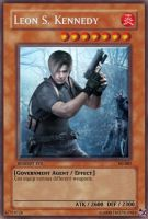 TEO4 Cards 22: Leon Kennedy by theevilone4