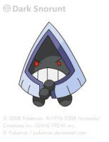 Dark Snorunt by pokemar