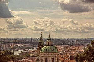 Clouds above Prague by ShlomitMessica