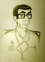 Dr. Paulo Pereira, M.D. by DaughterRootless