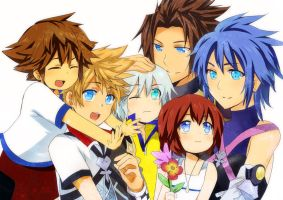 KH:BbS- Trios of Destinyyy by meru-chan