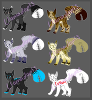 Creature Adopts -Open- by Llamadopts