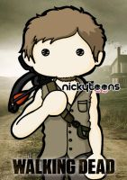 The Walking Dead - Daryl Dixon by NickyToons