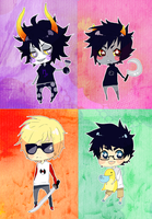 Homestuck: keychains by animegirl000