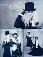 Malice Mizer cosplay by Flame-R