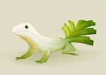 Leek Lizard by thesmallestjay