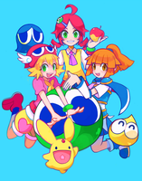 puyo by extyrannomon
