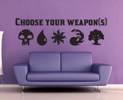 Magic the Gathering - Choose Your Weapons Decal by GeekeryMade