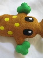 Sudowoodo Plush Custom by P-isfor-Plushes