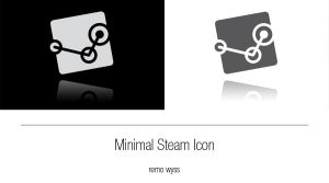 [icon] Minimal Steam Icon by Primofenax