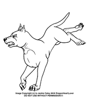 New Ginga LineArt 17 by DragonHeartLuver