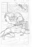 Spider-Man Comic page 2 pencils by IronWarrior777
