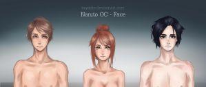 Naruto OC - Face by szyszke