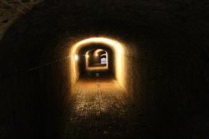Cobbled Tunnel by fuguestock