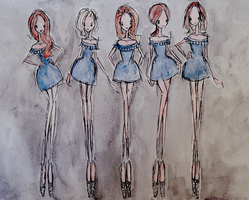 Girls Aloud ~ Ten by LL0ND0N