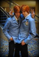 Ouran High School Host Club Twins by djzippy