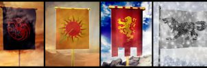 ASOIAF Flags by En-Taiho