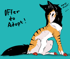 Tiger Mishaou Adopt[CLOSED] by Dr-Lawliette