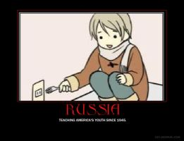 Russia Hetalia DeMotivation. by Venezia424