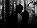 Kiss in the Deep Forest by Jarzka