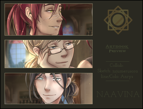 [NVN] Artbook Preview III by Titanium-Pictus