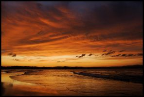 Byron sunset - 1 by wildplaces