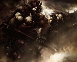 Battle Orcs by coskoniotis