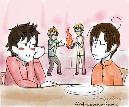 APH Draw the squad 4 by APH-Lovino-sama