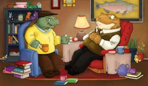 Turtle and Toad by UrsusArctos