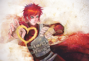 Valentine with Gaara by RanyaCat