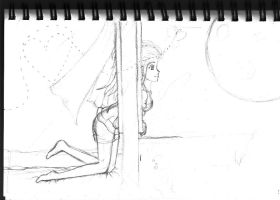 Sketch: A Window of Opportunity by Jeenso