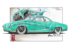 VWil's Ghia by HorcikDesigns