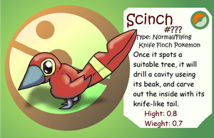 Fakemon Scinch by Protoeyesore