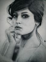 Gemma Arterton (Commissioned Work) by Dagonia