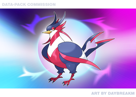 Mega Swellow (Data-Pack Commission 1/2) by DaybreakM