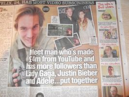 Pewds + others in the news by moonlightwolf578