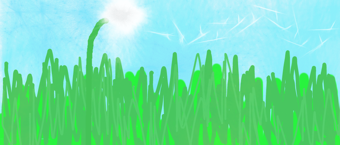 Dandelion in the spring by KFGarii