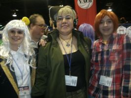 Anime Central: 2 Germans and an Italian by VickVicka