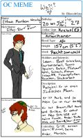 Meme Reference- Ethan Weschler by SexxiVexxi