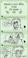 A day with your OC meme by Grethe--B
