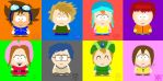 Digimon Meets South Park by elfox15