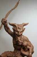 Krampus, wip by DellamorteCo