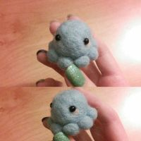 NF Blue Octopus by CandiGhoul
