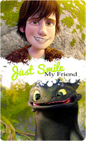 HTTYD EDIT Just Smile My Friend by Solita-San
