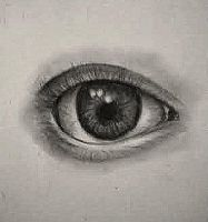 Realistic Eye Sketch by EponineProuvaire